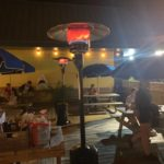 Outdoor Heaters Up & Running!