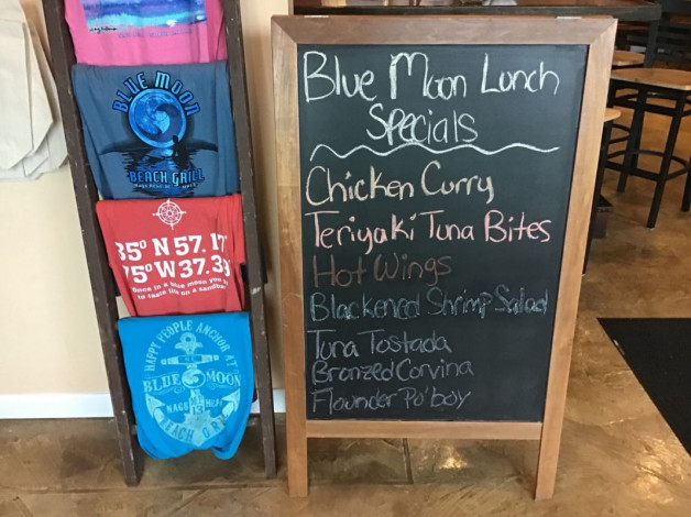 Wednesday Lunch Specials October 17th, 2018