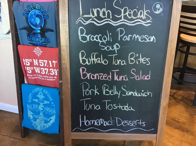 Sunday Lunch Specials October 21st,2018