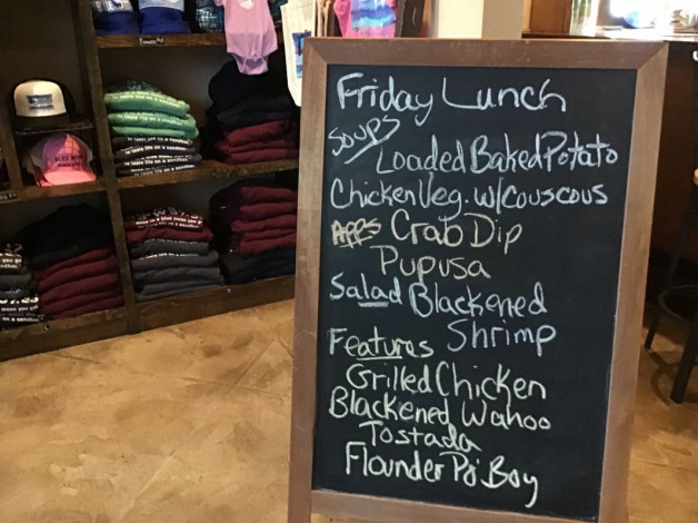 Friday Lunch Special October 26th, 2018