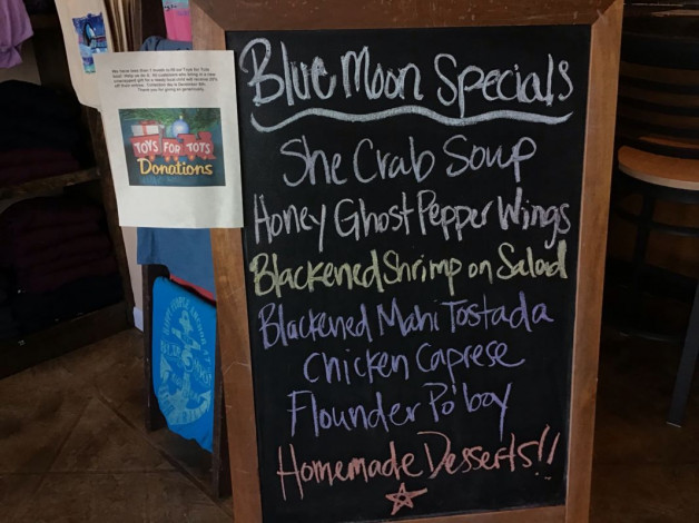 Monday Lunch Specials – November 12th 2018