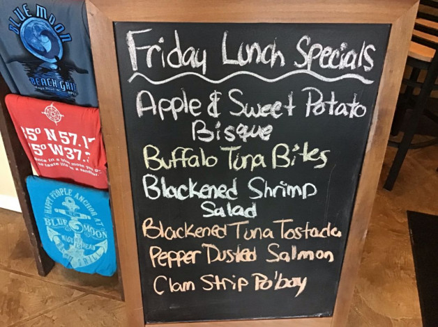Friday Lunch Specials November 23rd, 2018