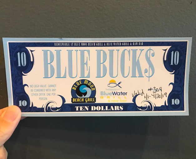 Holiday Shopping – Purchase Gift Certificates and Get 'Blue Bucks'!