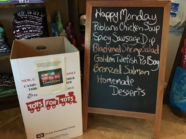 Monday Lunch Specials November 26th, 2018