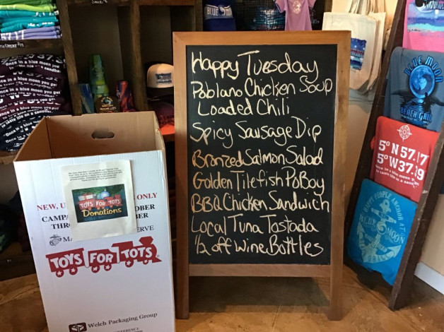 Tuesday Lunch Specials November 27th, 2018