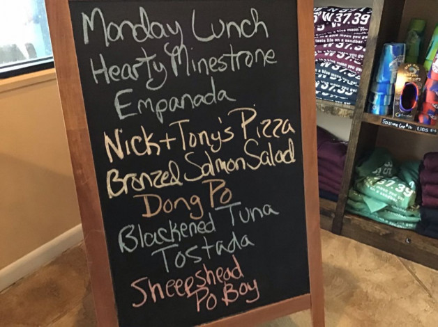 Monday Lunch Specials December 10th, 2018