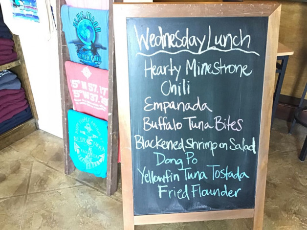 Wednesday Lunch Specials – December 12th 2018