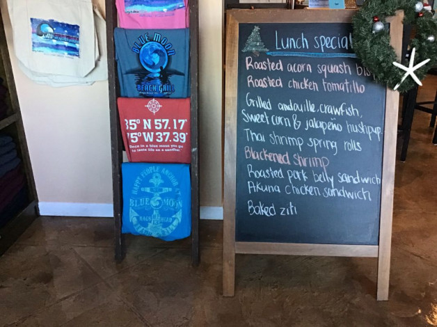 Saturday Lunch Specials- December 22nd, 2018