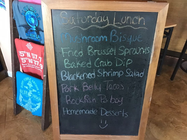 Saturday Lunch Specials- December 29th, 2018