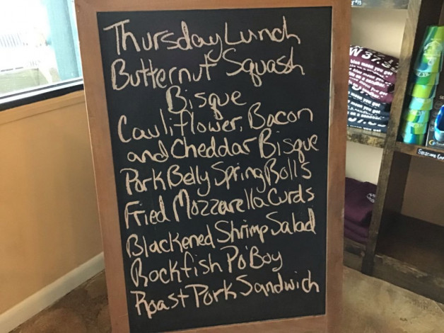 Thursday Lunch Specials January 17th, 2019