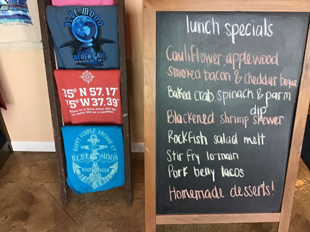 Saturday Lunch Specials- January 19th, 2019