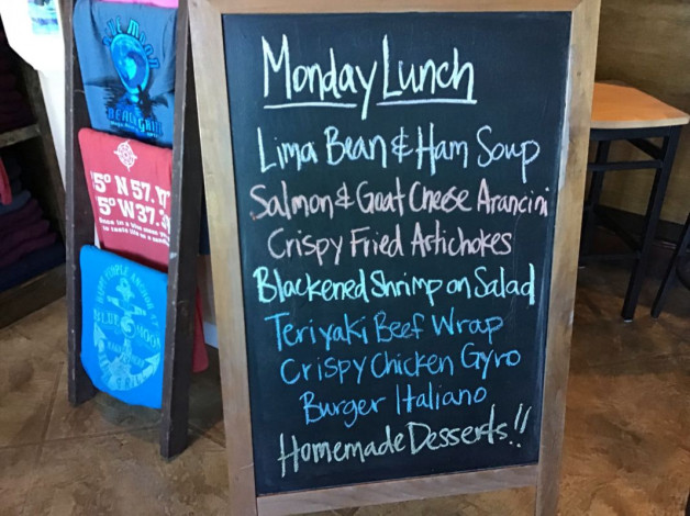 Monday Lunch Specials – January 21st 2019