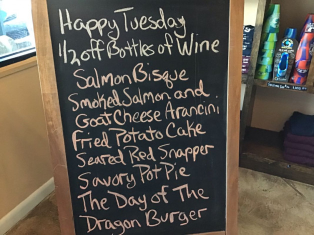 Tuesday Lunch Specials January 22nd, 2019