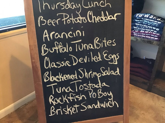 Thursday Lunch Specials January 31st, 2019