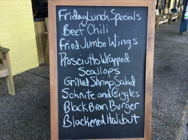 Friday Lunch Specials February 15th, 2019