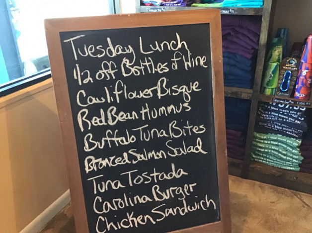 Tuesday Lunch Specials February 25th, 2019