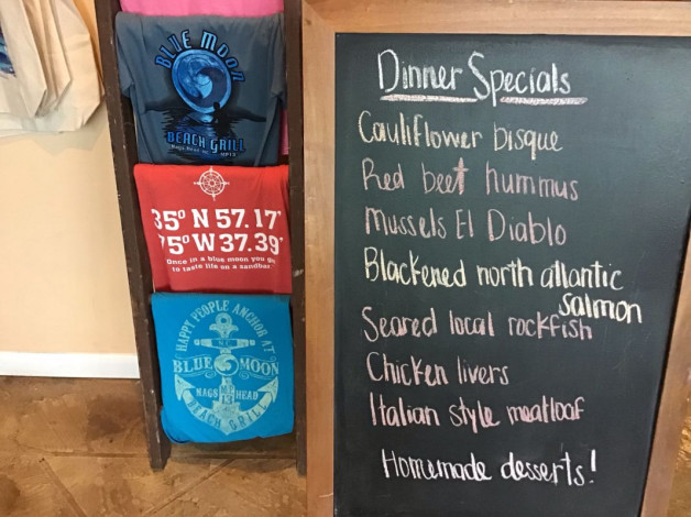 Wednesday Dinner Specials- February 27th, 2019