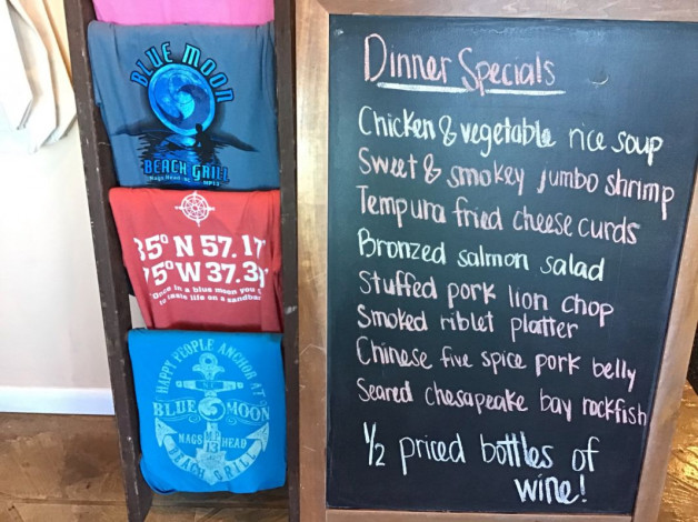 Tuesday Dinner Specials – March 12th 2019