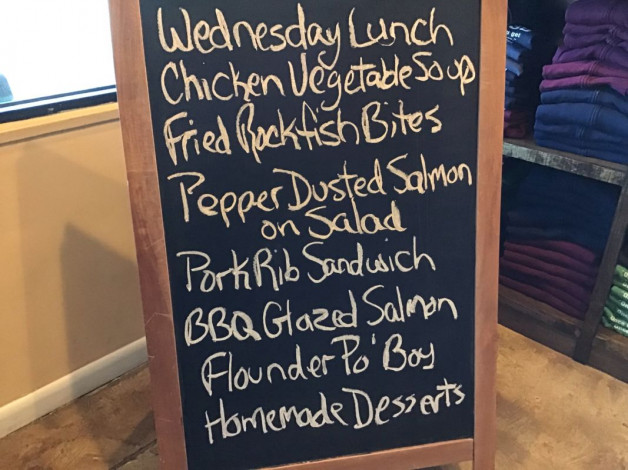 Wednesday Lunch Specials March 13th,2019