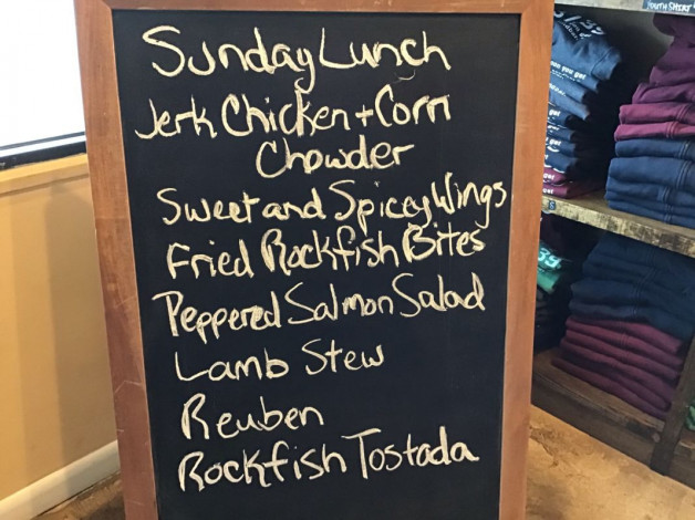 Sunday Lunch Specials March 17th, 2019
