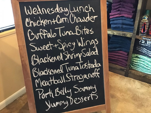 Wednesday Lunch Specials March 20th, 2019