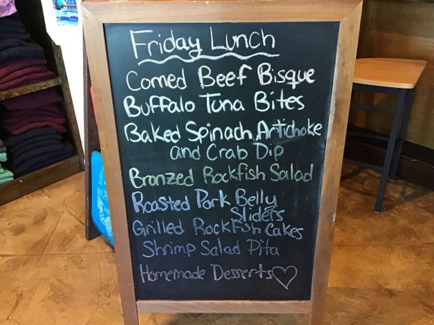 Friday Lunch Specials March 22nd, 2019
