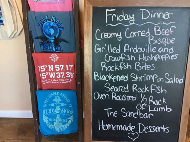 Friday Dinner Specials- March 22nd, 2019