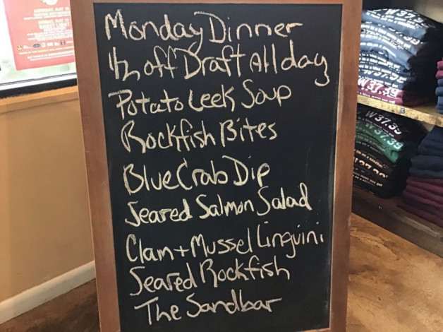 Monday Dinner Specials March 25th, 2019