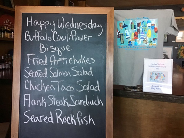 Wednesday Lunch Specials March 27th, 2019