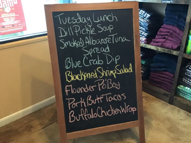 Tuesday Lunch Specials April 2nd, 2019