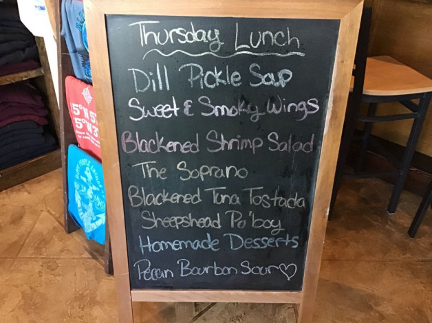 Thursday Lunch Specials~ April 4th, 2019