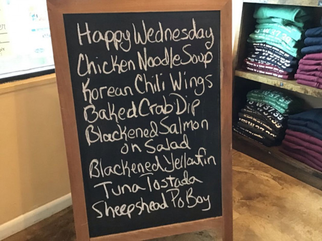 Wednesday Lunch Specials April 24th, 2019