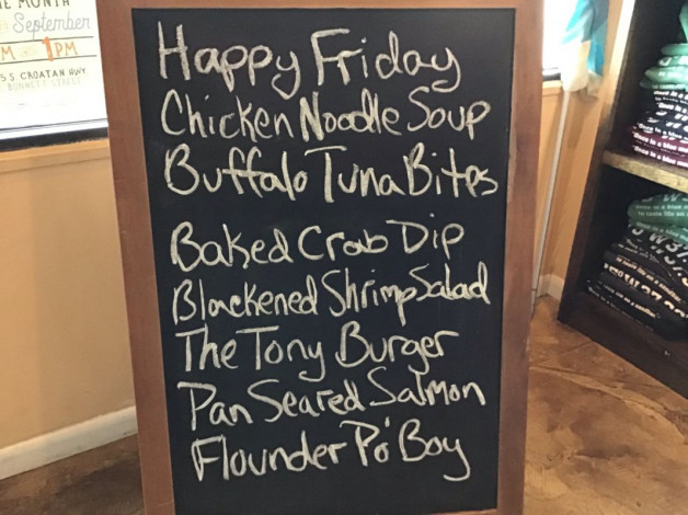 Friday Lunch Specials April 26th, 2019