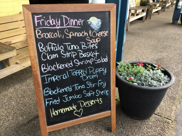 Friday Lunch Specials- May 10th, 2019