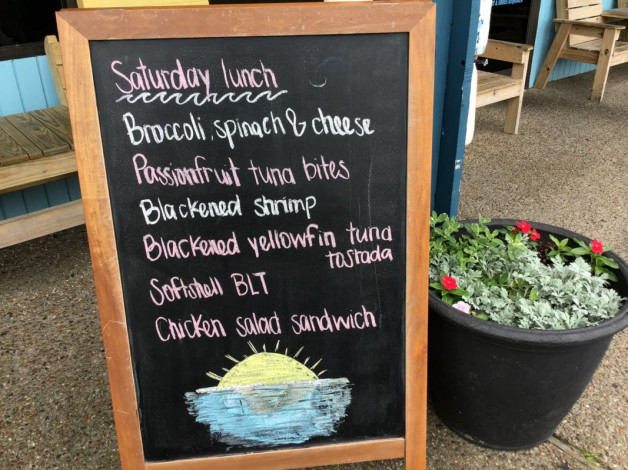 Saturday Lunch Specials- May 11th, 2019