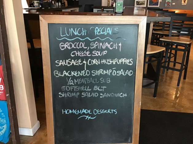 Monday, May 13th, 2019 — Lunch Specials