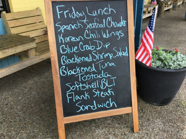 Friday Lunch Specials May 17th, 2019