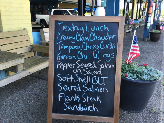 Tuesday Lunch Specials May 21st, 2019