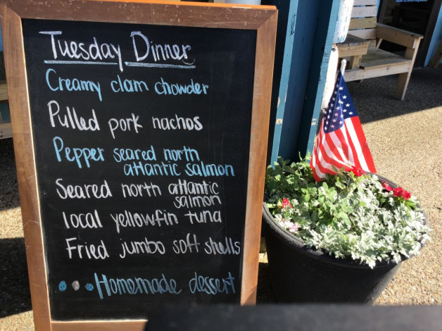 Tuesday Dinner Specials — May 21st, 2019