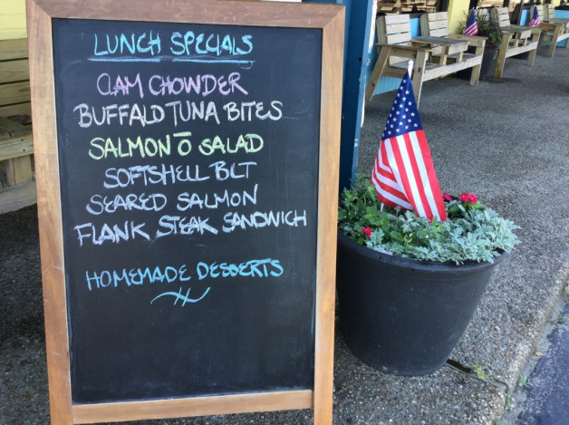 Wednesday Lunch Specials — May 22nd, 2019