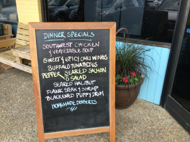 Thursday Dinner Specials — May 30th, 2019