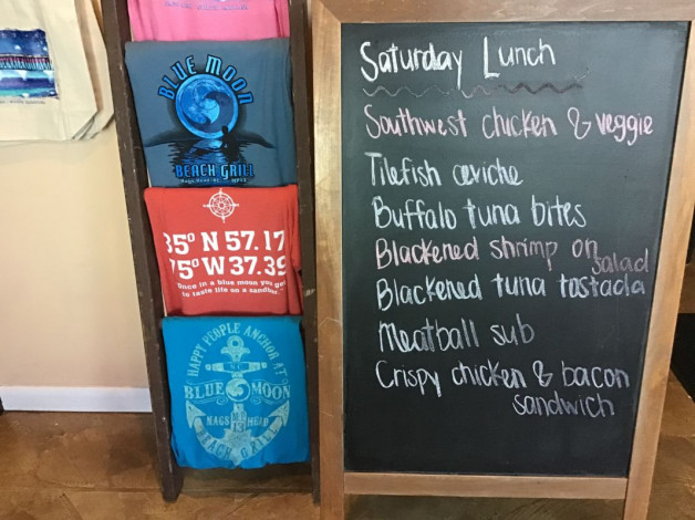 Saturday Lunch Specials- June 1st, 2019