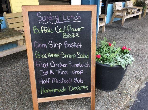 Sunday Lunch Specials- June 2nd,2019