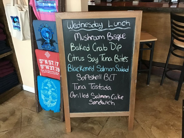 Wednesday Lunch Specials- June 12th, 2019