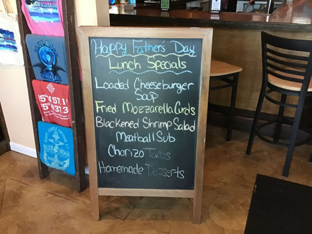 Sunday Lunch Specials- June 16th, 2019