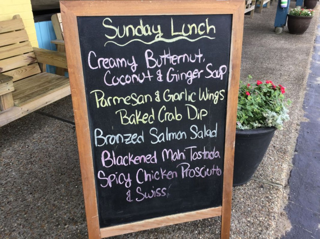 Sunday Lunch Specials- June 23rd, 2019