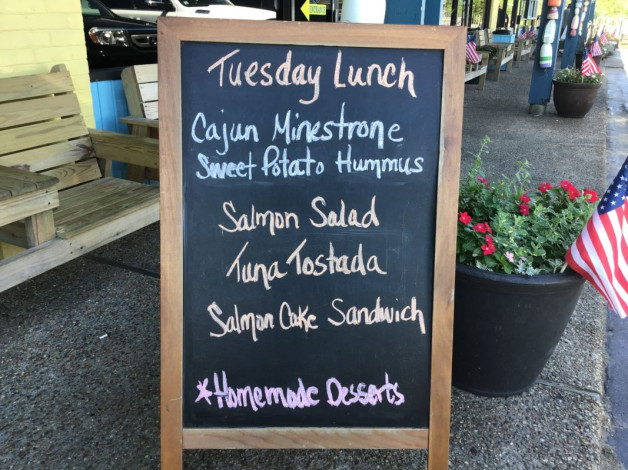 Tuesday Lunch Specials June 25,2019