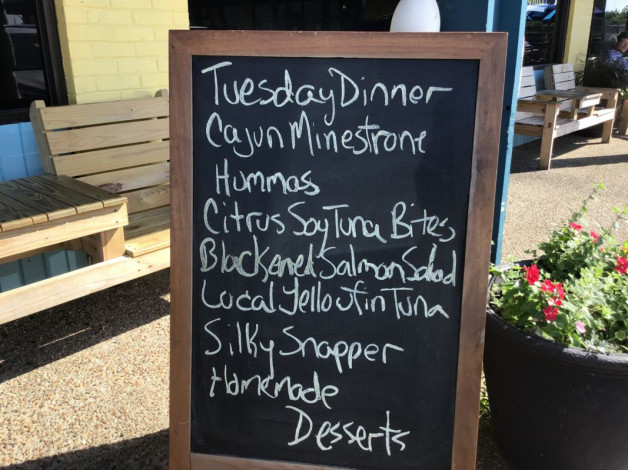 Tuesday Dinner Specials June 25th, 2019