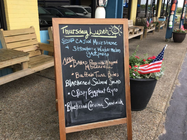 Thursday Lunch Specials June 27th, 2019