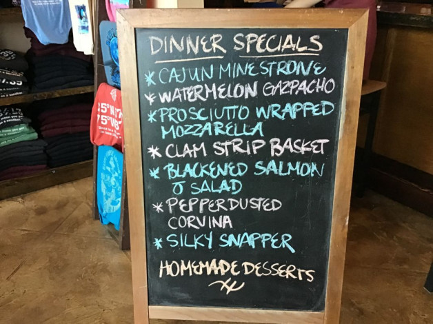 Thursday Dinner Specials — June 27th, 2019